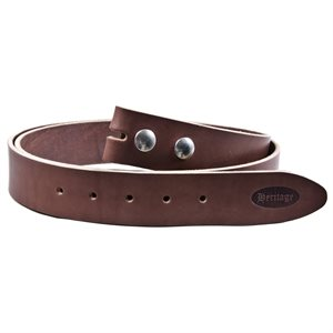 BELT BROWN FOR BUCKLE MED