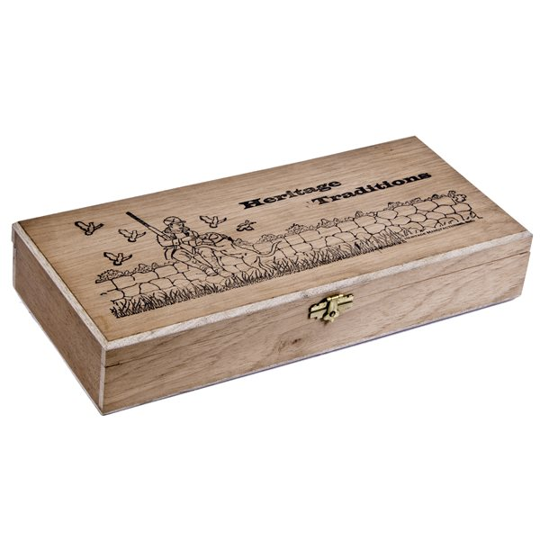 CEDAR BOX - HERITAGE TRADITIONS MAN'S BEST FRIEND