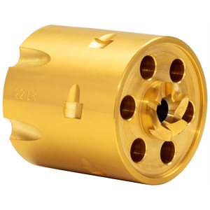 HERITAGE .22LR CYL 6 SHOT POLISHED GOLD