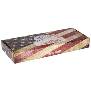 "Heritage Box 6"" American Flag and insert"