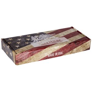 "Heritage Box 4"" American Flag and Insert"