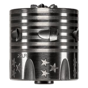 ENGRAVED STARS & STRIPES HERITAGE .22LR CYLINDER 6 SHOT