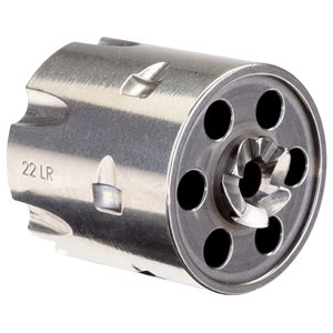 HERITAGE .22LR CYL 6 SHOT STAINLESS STEEL