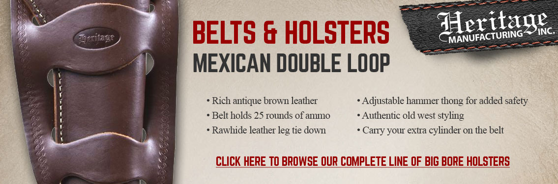 Shop Holsters for your Heritage Mfg Big Bore Revolver